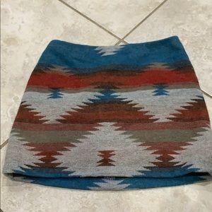 American Eagle Festival Blanket Skirt 2/XS for sale